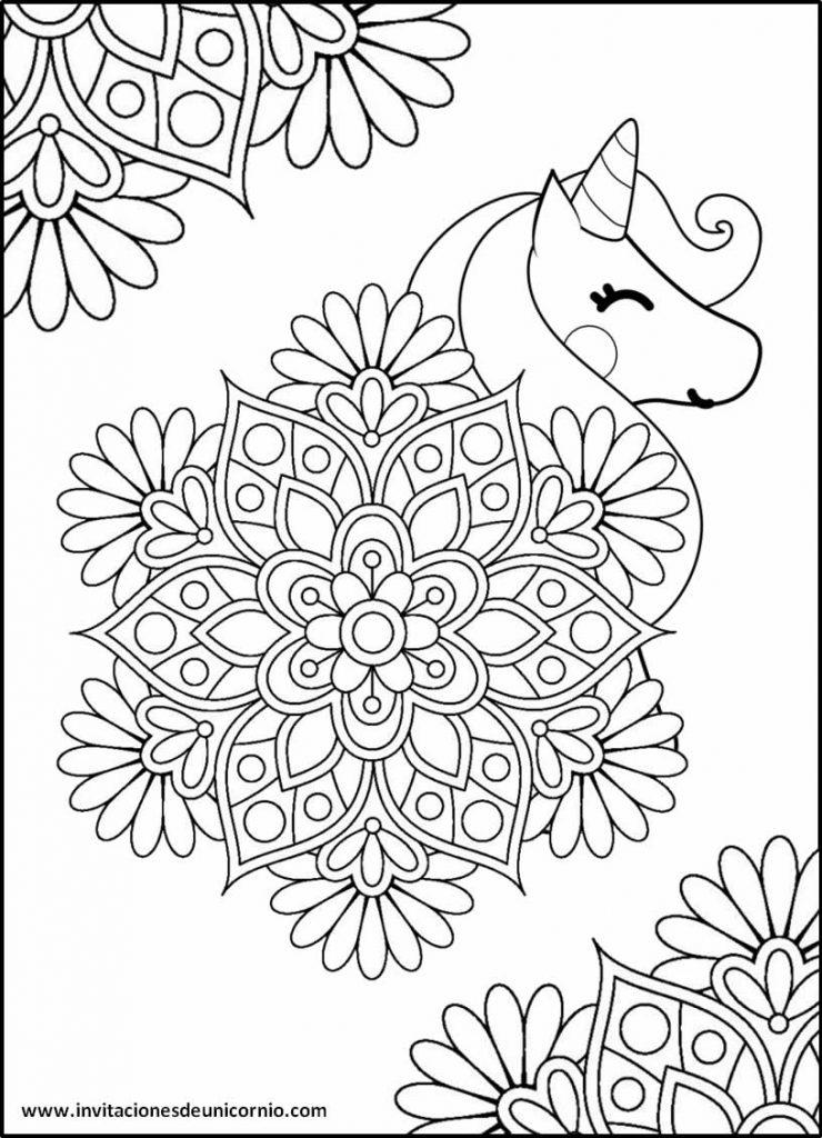 Mandalas De Unicornio