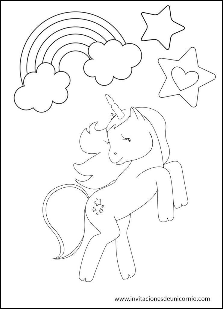 Imágenes de Unicornio para Pintar